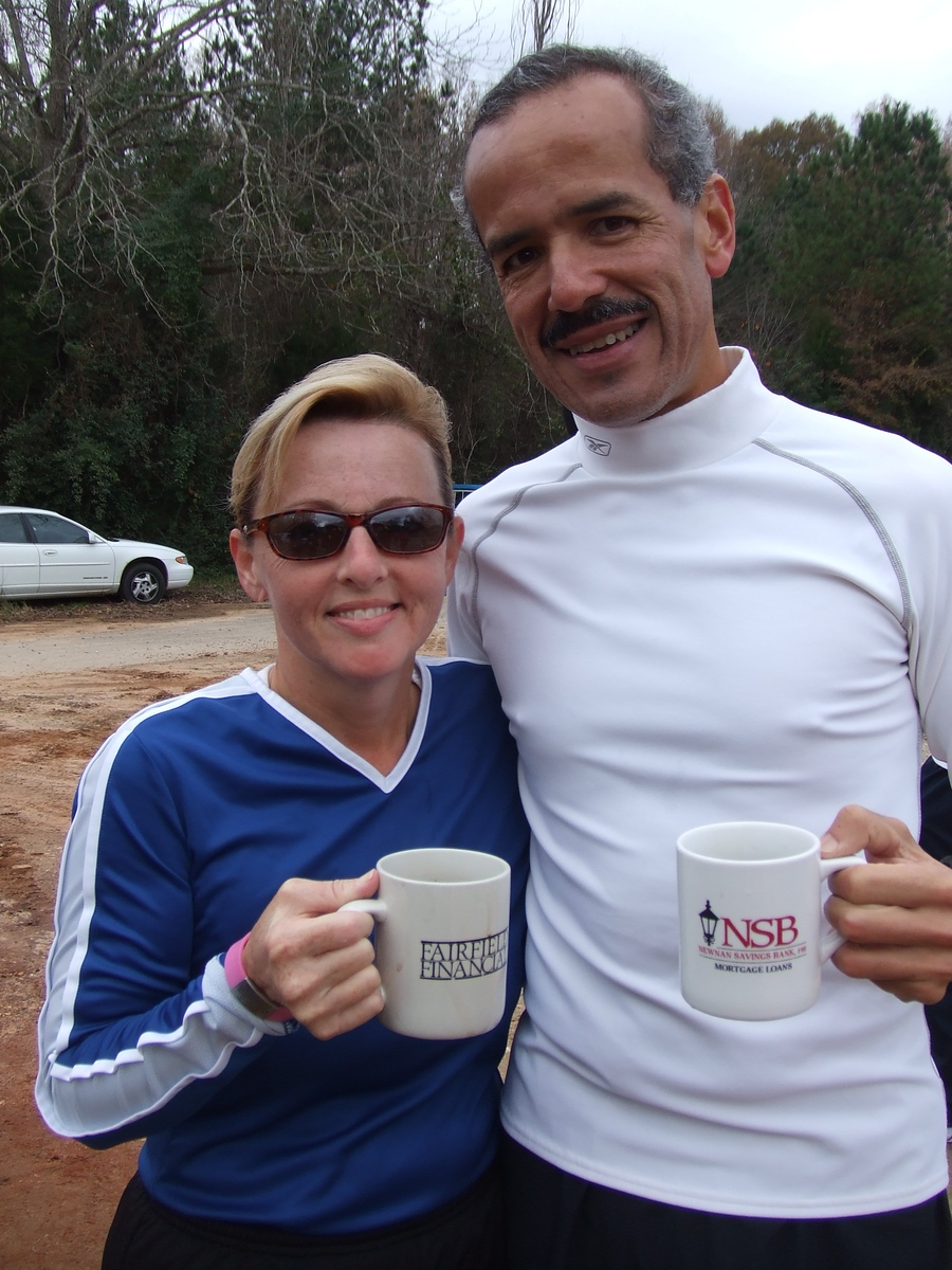Robin and Sam Martinez - cheers!